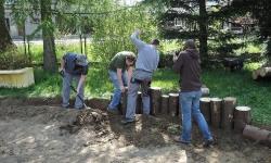 Tvorba nových zahradních prvků v zahradě ZŠ Velká Losenice