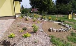 Úprava zahrady MŠ Ostrov nad Oslavou v přírodním stylu