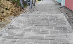 Vybudování chodníků ze zámkové dlažby